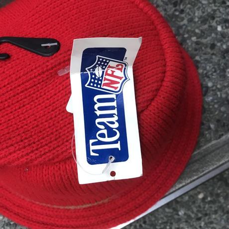 SAN FRANCISCO 49ers/NFL サンフランシスコ49ers ニットハット 90年代 Made In USA (DEADSTOCK)