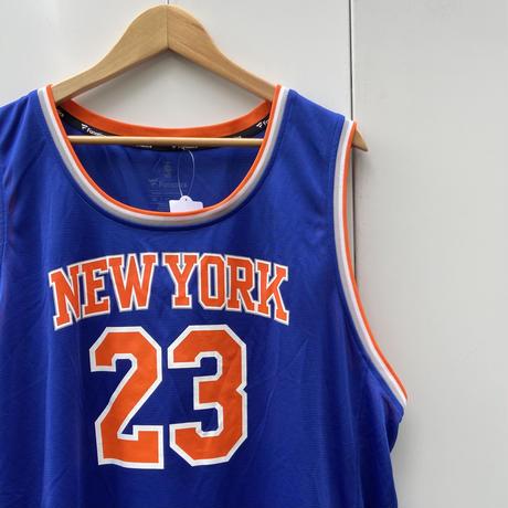 FANATICS NBA KNICKS/ファナティックス ニューヨークニックス 23 ロビンソン バスケットタンクトップ 2010年代 (USED)