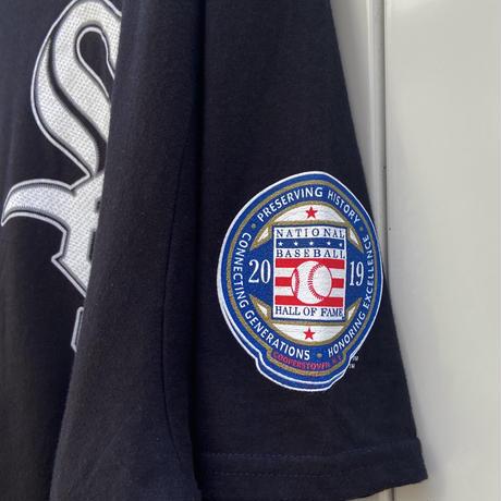 MAJESTIC MLB WHITE SOX/マジェスティック ホワイトソックス 3 BAINES Tシャツ 2019年 (DEADSTOCK)
