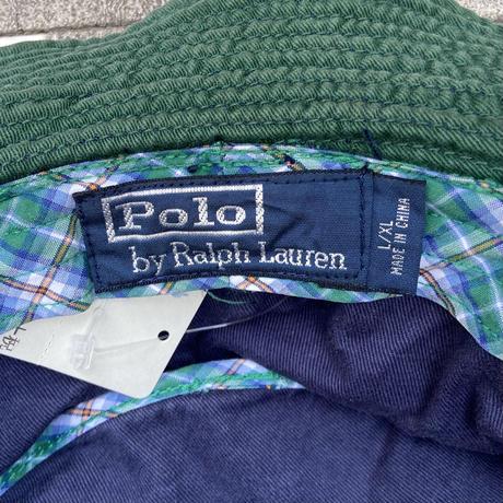 Polo Ralph Lauren/ポロラルフローレン バケットハット 2000年前後 (USED)