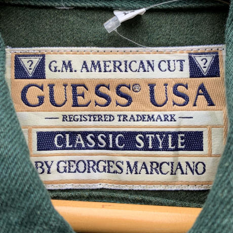 GUESS USA/ゲスUSA オーバーダイGジャン 90年代 Made In USA (USED)