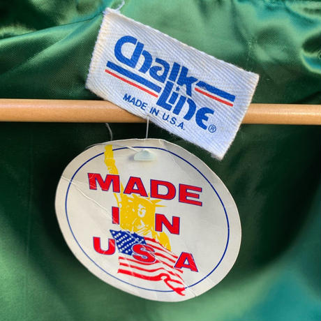 ChalkLine/チョークライン NBA CELTICS スタジャン 80年代 Made In USA (DEADSTOCK)