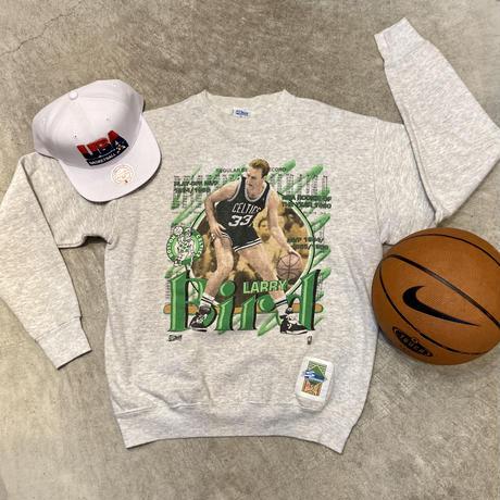 SALEM NBA CELTICS LARRY BIRD/セーラム ボストンセルティックス ラリーバード スウェット 91年 Made In USA (USED)