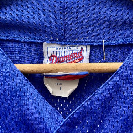 Majestic MLB CUBS/マジェスティック シカゴカブス ベースボールシャツ 90年代 Made In USA (USED)
