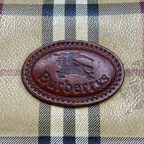 BURBERRYS/バーバリーズ スモールショルダーバッグ 90年前後 Made In ITALY (USED)