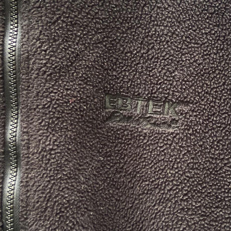 EBTEK EDDIE BAUER/イービーテック エディーバウアー ボアフリースジャケット 90年代 Made In USA (USED)