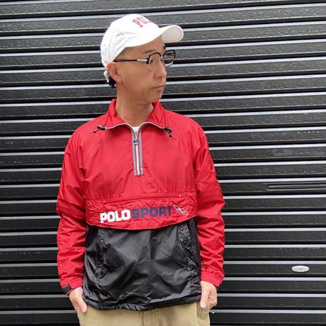 POLOSPORT/ポロスポーツ 裏フリースプルオーバージャケット 90年代 (USED)