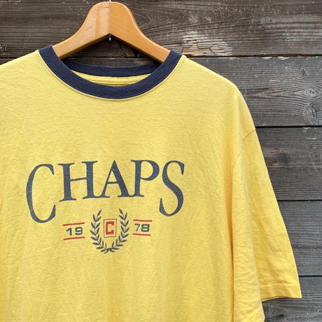 CHAPS RALPH LAUREN/チャップス ラルフローレン ロゴTシャツ 2000年前後 (USED)