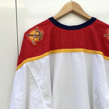 NHL FLORIDA PANTHERS/フロリダパンサーズメッシュ ホッケーシャツ 2000年前後 Made In CANADA (USED)