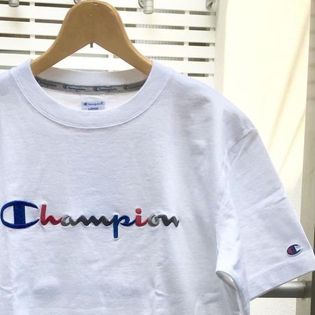 Champion/チャンピオン ロゴ刺繍 Tシャツ 2018FW (NEW)