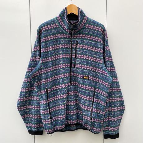 REI/アールイーアイ ハーフジップフリースジャケット 90年代 Made In USA (USED)