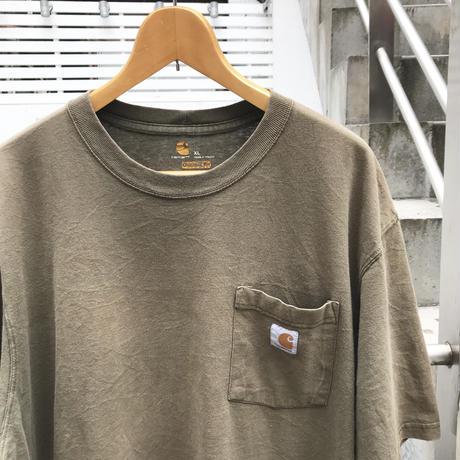 CARHARTT/カーハート 胸ポケットTシャツ 2000年代 (USED)