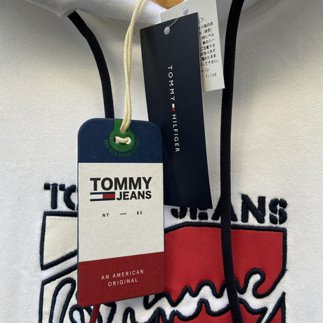 TOMMY JEANS/トミージーンズ フードスウェット (NEW)