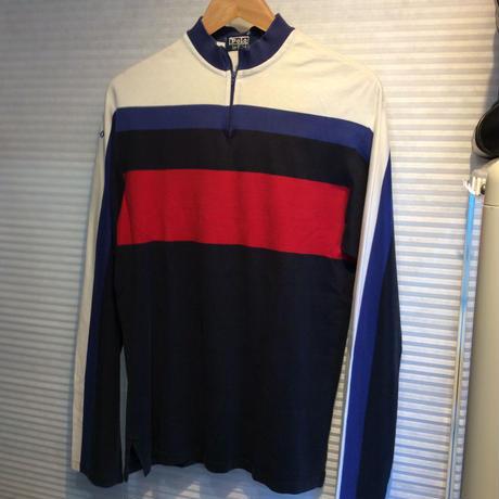 Polo Ralph Lauren/ポロラルフローレン 90'sハーフジップロンT(USED)