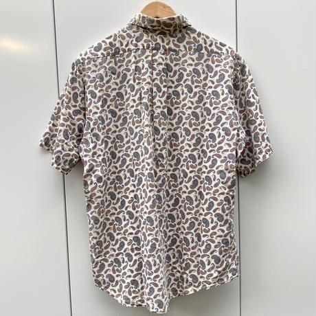 WINGS/ウィングス ペイズリー柄 半袖ボタンダウンシャツ 60年代 (USED)
