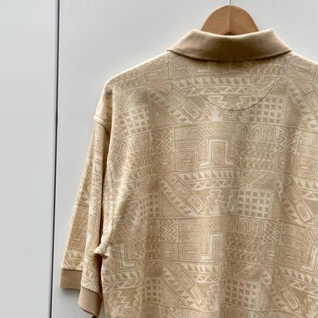 FILA GOLF/フィラゴルフ 柄ポロシャツ 90年代 (DEADSTOCK)