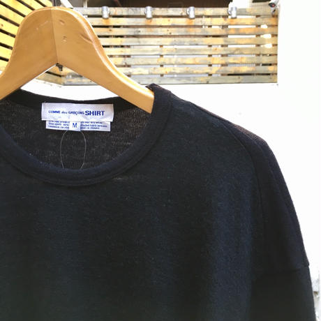 COMME des GARCONS HOMME/コムデギャルソンオム 切り替えセーター 90年代 Made In FRANCE (USED)