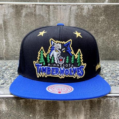 MITCHELL & NESS NBA TMBERWOLVES/ミッチェルアンドネス ミネソタティンバーウルブズ HALL OF FAME キャップ (NEW)