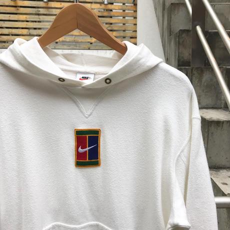 NIKE TENNIS/ナイキ テニス ロゴフードスウェット 90年代 Made In JAPAN  (USED)