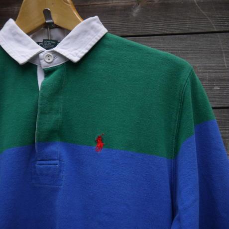 PoloRalphLauren/ポロラルフローレン ラガーシャツ 80年代  (USED)