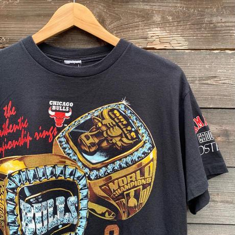 NBA CHICOGO BULLS/シカゴブルズ  ワールドチャンピオンTシャツ 92年 (USED)