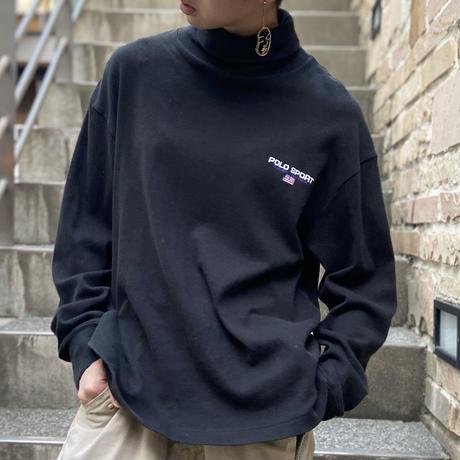 POLOSPORT/ポロスポーツ タートルネックロングスリーブTシャツ 90年代 (USED)