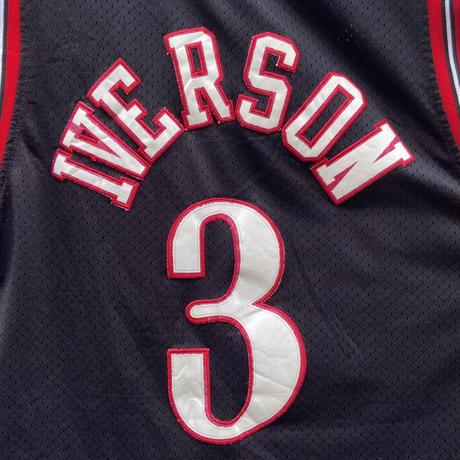 adidas NBA 76ers/アディダス フィラデルフィア シクサーズ IVERSON3 バスケットタンクトップ 2000年代 (USED)