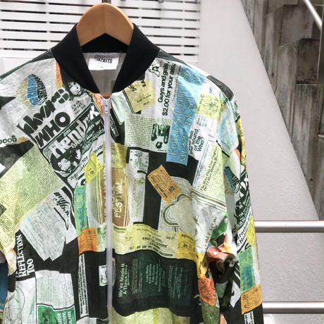 GRAPHIC JACKETS/グラフィックジャケット ペーパージャケット 90年代 (USED)