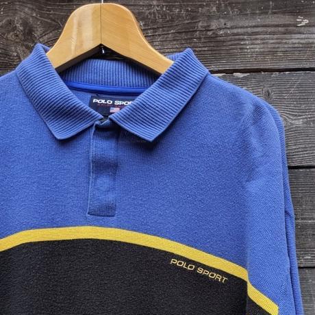 POLOSPORT/ポロスポーツ 鹿の子ポロシャツ 90年代 (USED)