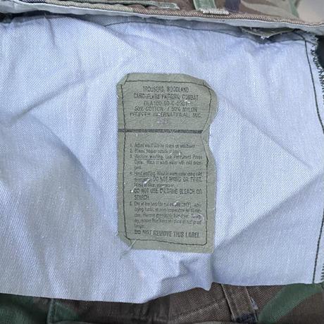 WOODLAND CAMO/ウッドランドカモ 6ポケットカーゴパンツ 90年製 (USED)