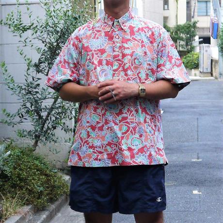 Reyn Spooner/レインスプーナー ボタンダウン プルオーバー アロハシャツ 90年前後 TAILORED IN HAWAII (USED)