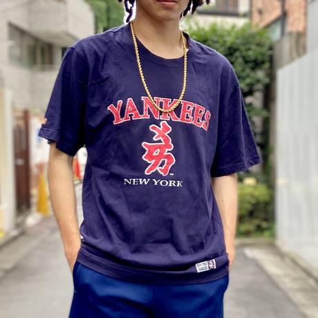 MLB YANKEES/ニューヨーク ヤンキース Tシャツ 2000年前後 (USED)