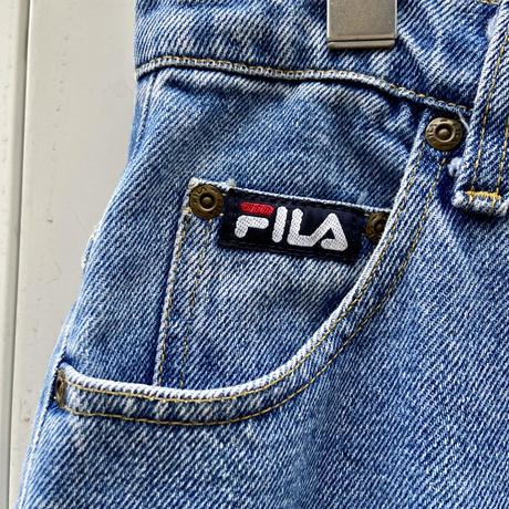 FILA/フィラ 5ポケットデニムショートパンツ 90年代 (USED)