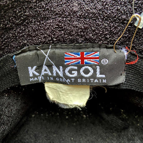 KANGOL/カンゴール BERMUDA PORKPIE パイルハット 90年代 Made In England (USED)