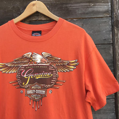 HARLEY DAVIDSON/ハーレーダビッドソン 両面プリントTシャツ 95年 Made In USA (USED)
