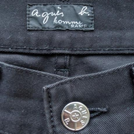 Agnes B/アニエスべー 5ポケットパンツ 90年代 Made In FRANCE (USED)