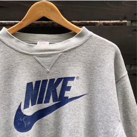 NIKE/ナイキ ロゴスウェット 90年代 Made In JAPAN (USED)