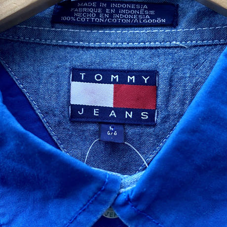 TOMMY JEANS/トミージーンズ シャツ 90年代 (USED)