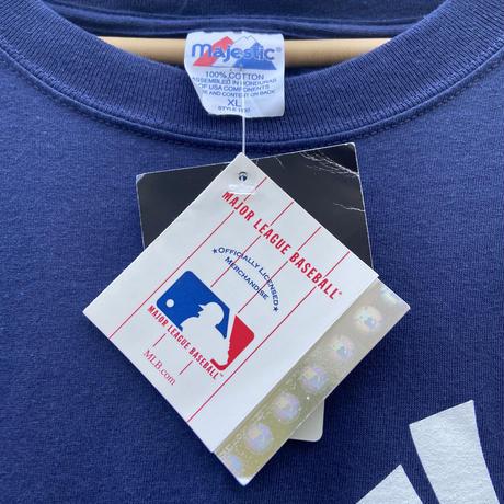 MAJESTIC MLB YANKEES/マジェスティック ニューヨークヤンキース 35MUSSINA Tシャツ 2000年代 (DEADSTOCK)