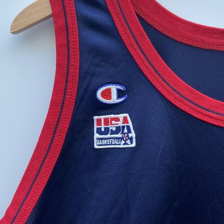 Champion USA BASKETBALL TEAM/チャンピオン アメリカ代表バスケットタンクトップ 5HILL 90年代 Made In USA (USED)