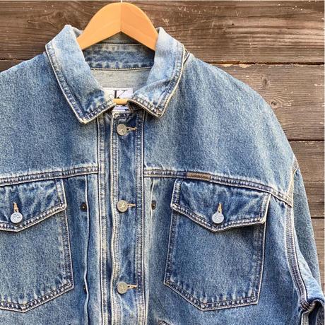 Calvin Klein Jeans/カルバンクラインジーンズ ウォッシュド Gジャン 90年代 (USED)