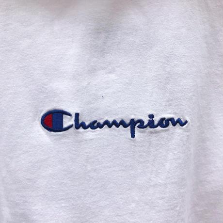 Champion/チャンピオン ロゴ刺繍 天竺パーカ (NEW)