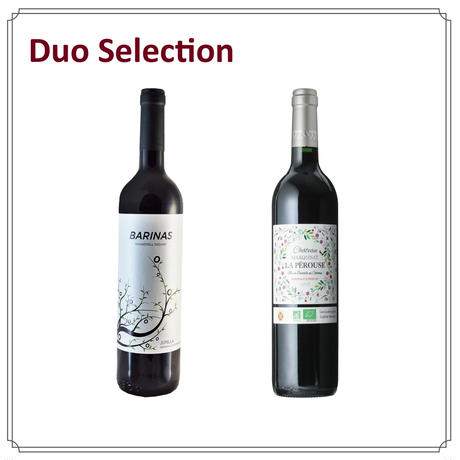 【Duoセレクション】「本格派の健康志向」オーガニック 赤ワイン Aセット