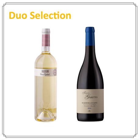 【Duoセレクション】スローフードに合うイタリアワイン(白・赤)Aセット