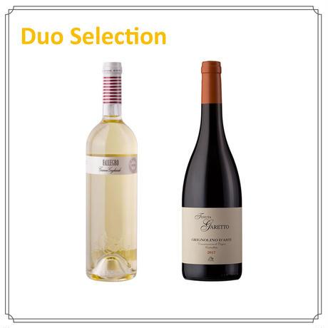 【Duoセレクション】スローフードに合うイタリアワイン(白・赤)Bセット