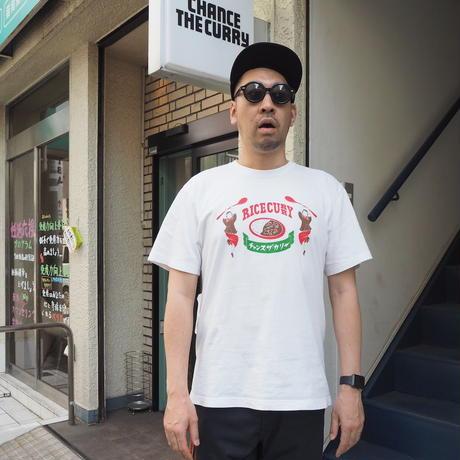 ライスカレー Tシャツ【白米色】