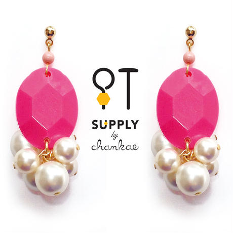 Jewelry kit アクセサリー制作キット/ヴィンテージビーズ&パールのピアス