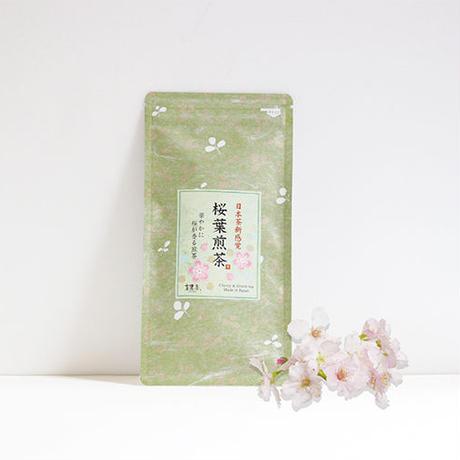 桜葉煎茶/50g 緑茶(京都府宇治田原産)Japanese Green Tea with Cherry Leaves / Kyoto