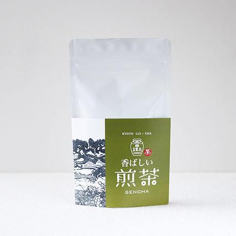香ばし煎茶/80g 緑茶(国産)High Fired Sencha / Kyoto