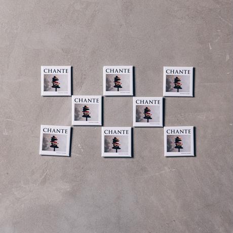 【CHANTE】batch&magnet set